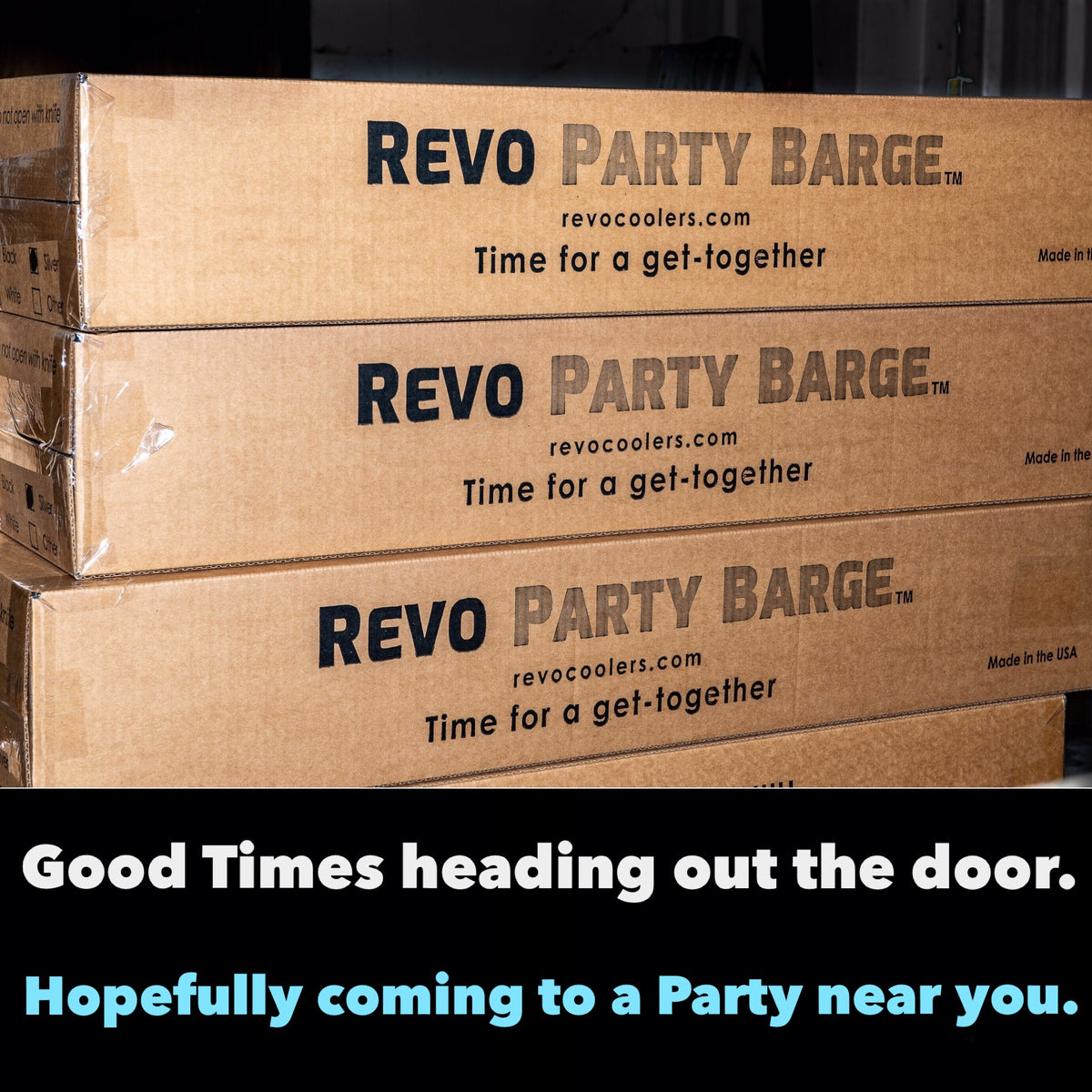 REVO Party Barge Cooler is an insulated beverage tub, wine bucket, champagne bucket, beer bucket, ice bucket and mimosa bar. Used for entertaining at home, bachelorette party, bridal shower, wine party, tailgating, open house, catering and bartending.