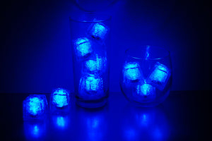 REVO Blue Light Up Ice Cube - Best cube in the market - 12 pack - FREE SHIPPING