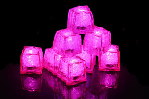 REVO Pink Light Up Ice Cube | Best cube in the market | 12 pack | FREE SHIPPING