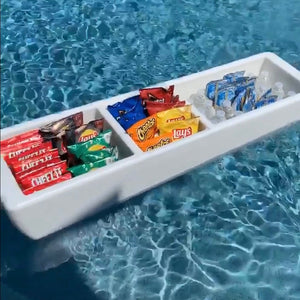 REVO Party Barge Beverage Tub | Pearl White | FREE Shipping | Made in USA🇺🇸