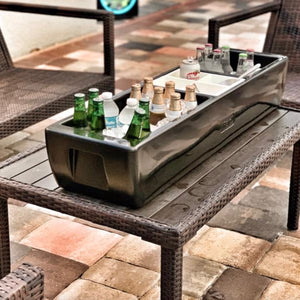REVO Party Barge Beverage Tub  | Deep Black | FREE Shipping | Made in USA🇺🇸
