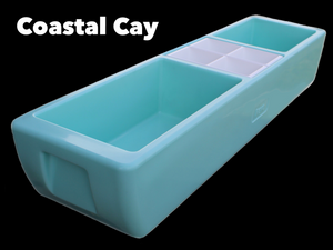 REVO Party Barge Beverage Tub  (Coastal Cay) - FREE SHIPPING - Made in USA🇺🇸