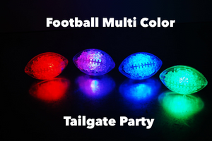 REVO Football Multi-Color LED Light Up Ice Cubes | Best cube in the market | 12 pack | FREE SHIPPING