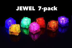 REVO JEWEL  7 Pack Light Up Cubes - Best cubes in the market - 7 pack - FREE SHIPPING