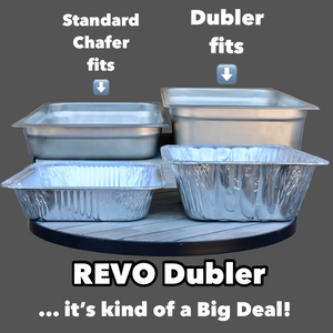 REVO Dubler HEAT | Metallic Gray | FREE Shipping | Made in the USA 🇺🇸