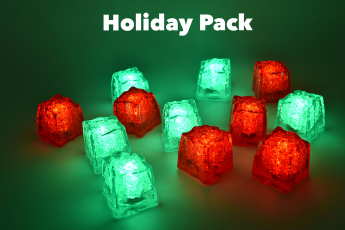 REVO Holiday Pack Light Up Ice Cubes | Best cube in the market | 12 pack | FREE SHIPPING