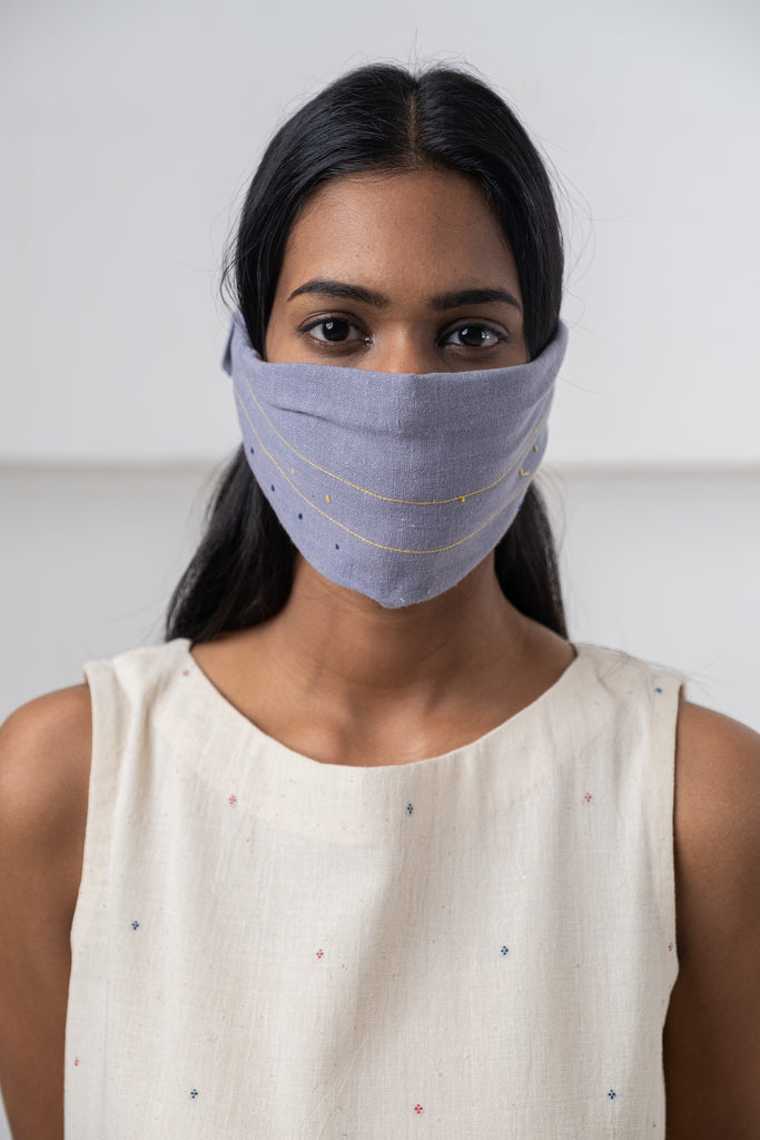 Unisex Stylish Designer wool Face Mask Material :- 100% pure Cotton, 2 Layered Stylish best quality cotton Mask wear as matching with your cotton dress. Help to protect you from dust and weather, dust, pollen and smoke, allowing you to breathe everyday.