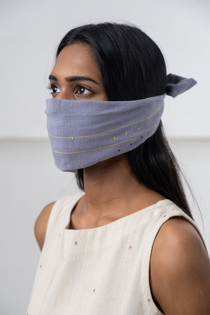 Full 2-ply face masks made from pure cotton, breathable and washable in machine Ear loops of knit fabric made of high-quality and flexibility.