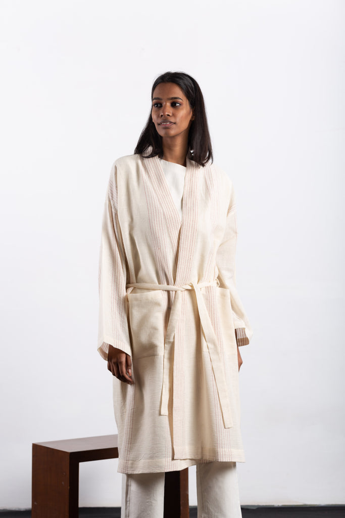 crow ethical shopping organic house robe 4