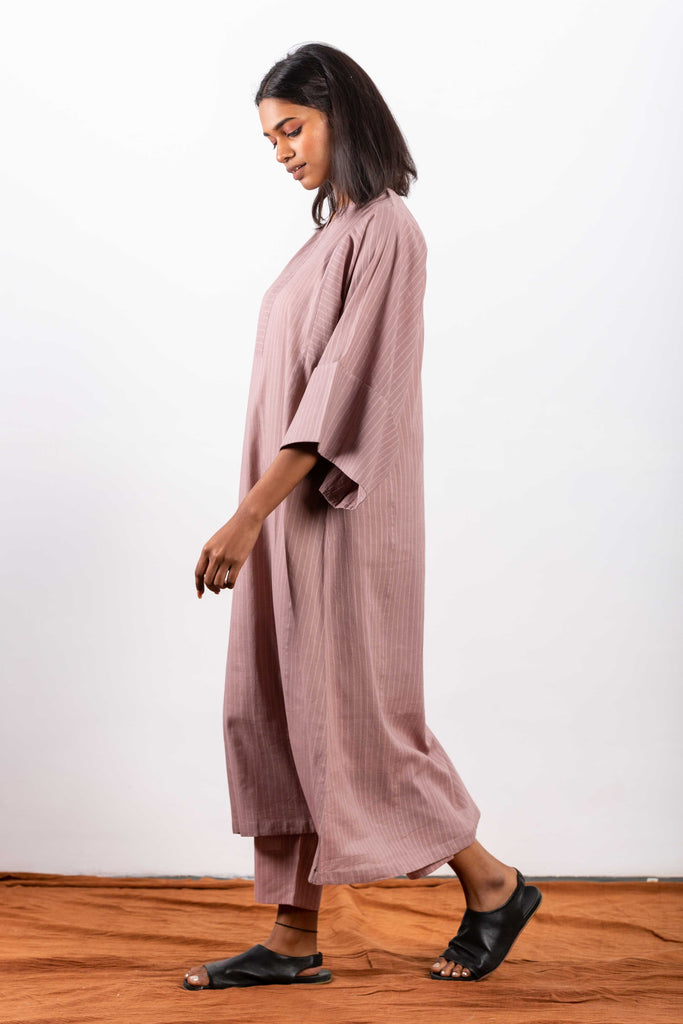 Sustainable fashion brand making comfort wear using breathable fabrics, perfect for meditation.