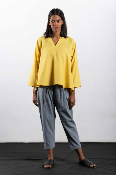 crow-clothing-yellow-checked-top-image-2
