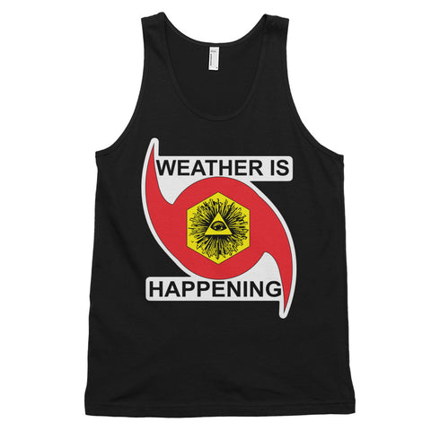 A TANK WEATHER IS HAPPENING A TOP