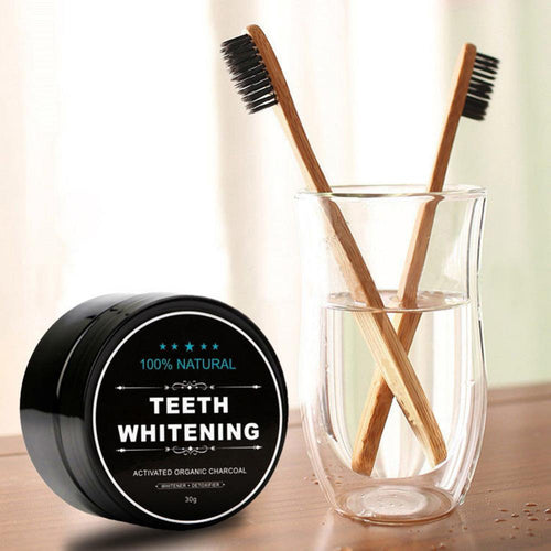 GlowUp™ Activated Charcoal Teeth Whitening Kit