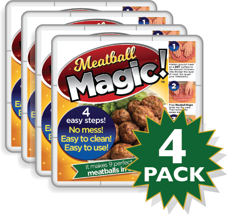 Meatball Magic 4 Pack