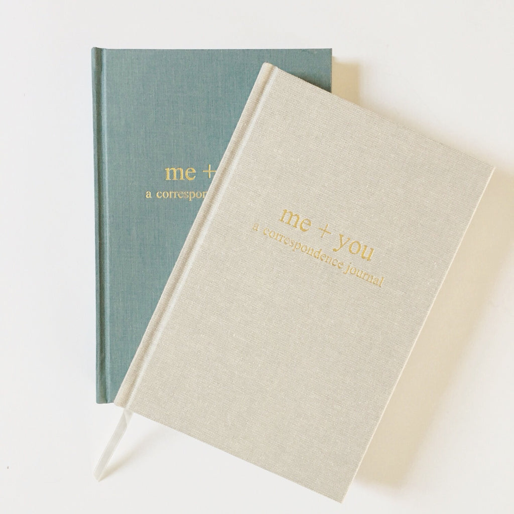 A Correspondence Journal; a collection of letters to tell your story