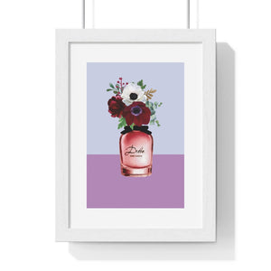 Perfume Bottle 3 - Premium Framed Vertical Poster