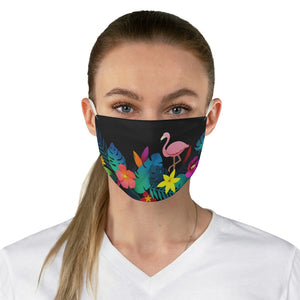 Tropical Paradise Fabric Face Mask
