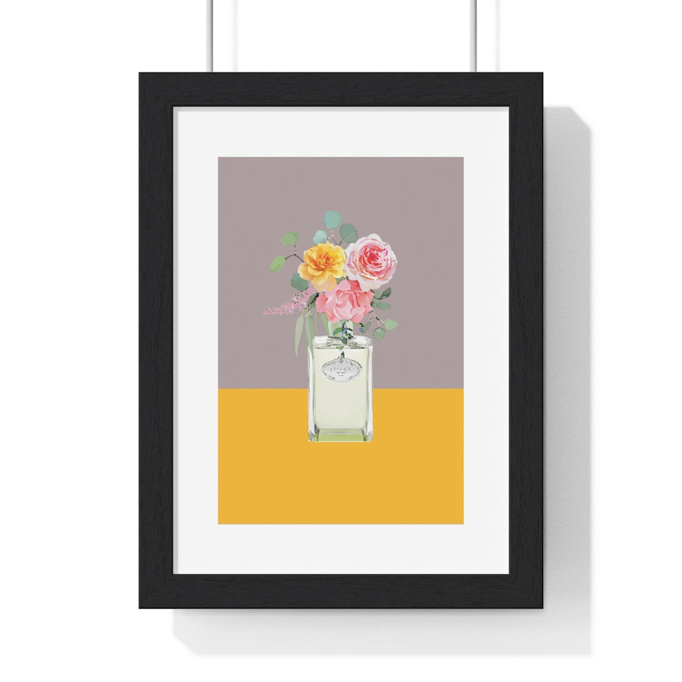 Perfume Bottle 11 - Premium Framed Vertical Poster