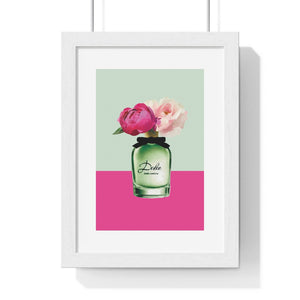 Perfume Bottle 5 - Premium Framed Vertical Poster