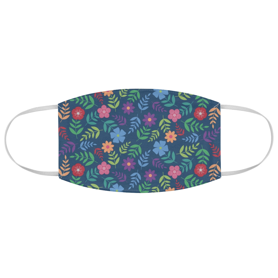 Bright & Beautiful Floral Print Fabric Face Mask