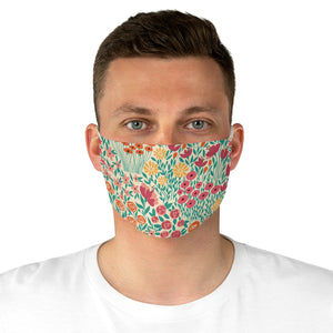 Happy Blooms Fabric Face Mask