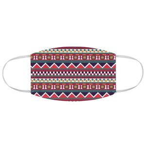 Ethnic Pattern Fabric Face Mask