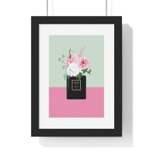 Perfume Bottle 4 - Premium Framed Vertical Poster