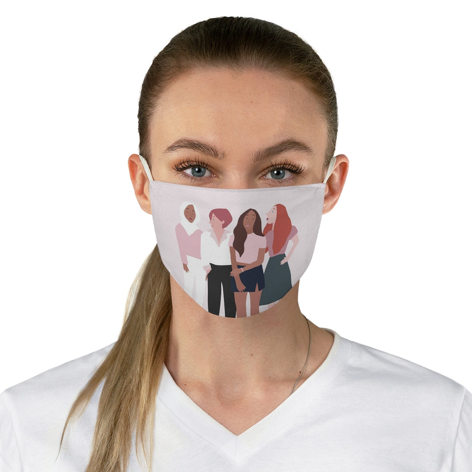Girl Power Fabric Face Mask