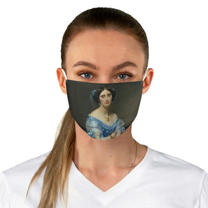 Portrait of a Lady Fabric Face Mask