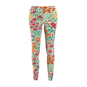 Happy Blossom Casual Leggings