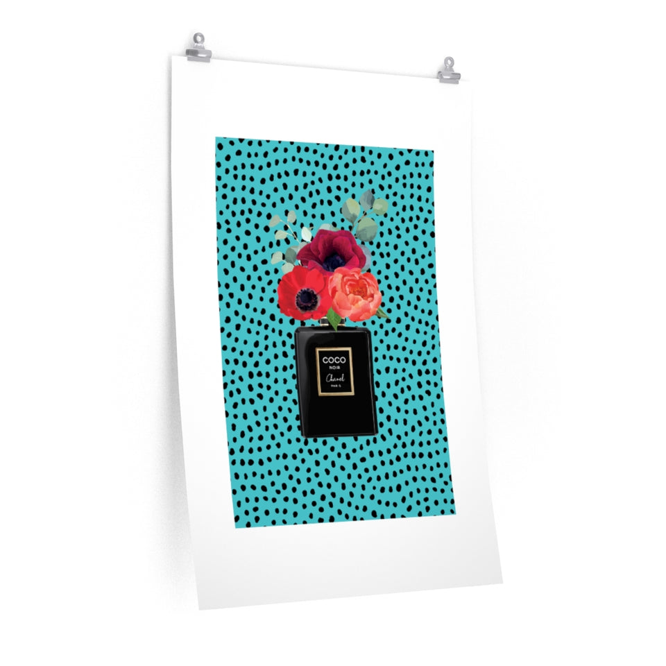 Perfume Dotty Premium Matte vertical posters