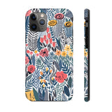 Phone Case - Floral Grey Print