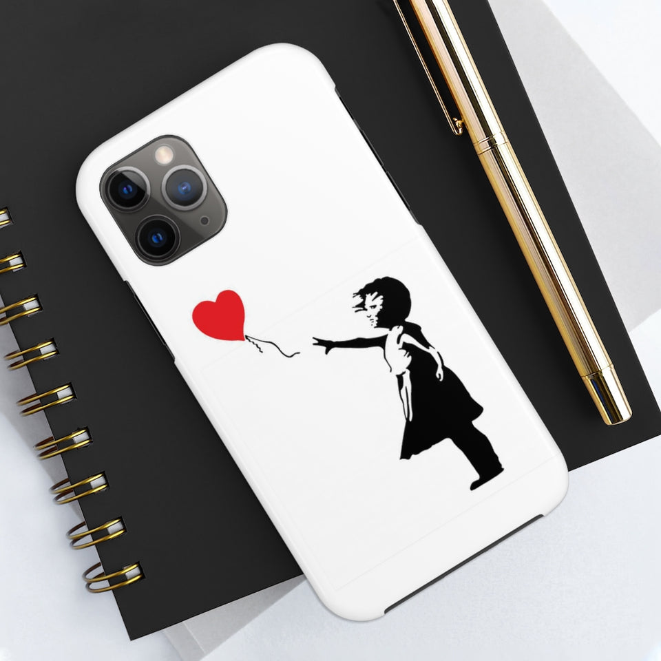 Phone Case - Banksy Print