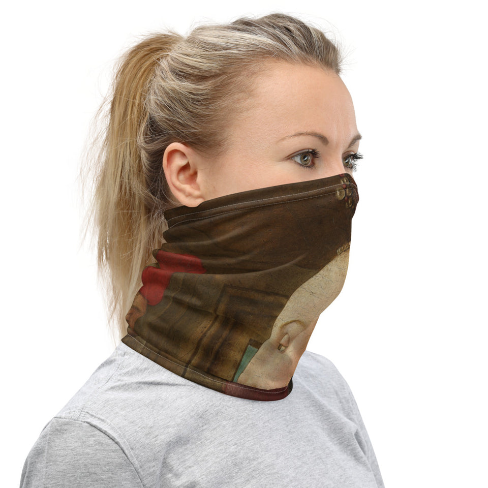 Portrait of a Girl Neck Gaiter - Lola + Bronte
