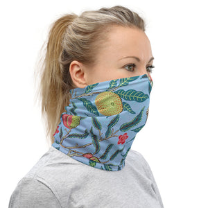 William Morris Pattern Neck Gaiter - Blue - Lola + Bronte