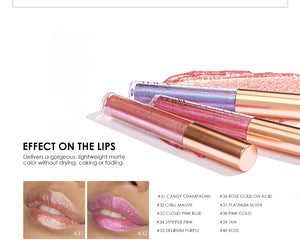 Waterproof Shimmer Matte Long Lasting Lip Tint