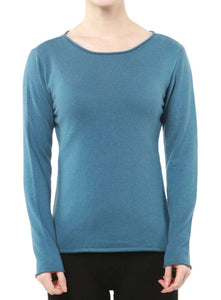 Soft and Lightweight Cashmere Long-sleeved Turtleneck Pullover