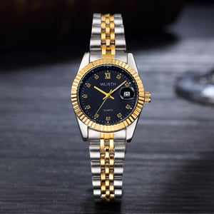 Luxury Ladies Quartz Two Tone Watch