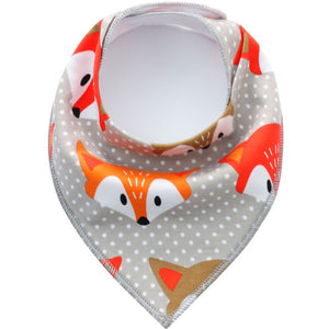 Baby Cotton Bibs Triangle Style