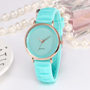 Elegant Silicone Band Ladies Watch - Lola + Bronte