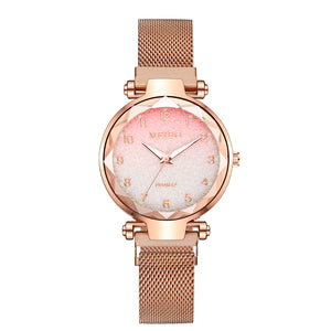 Luxury Gradient Colour Ladies Mesh Strap Watch - Lola + Bronte