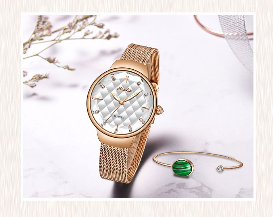 Luxury Ladies Quartz Watch