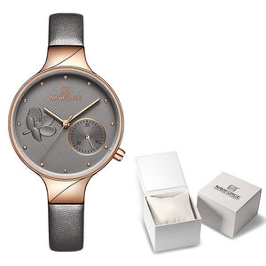 Luxury Brand NAVIFORCE Quartz Ladies Watch