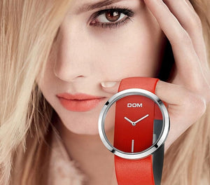 Luxury Transparent Face Fashion Waterproof Watch