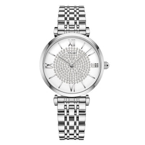 Luxury Ladies Mesh Strap Quartz Watch - Lola + Bronte