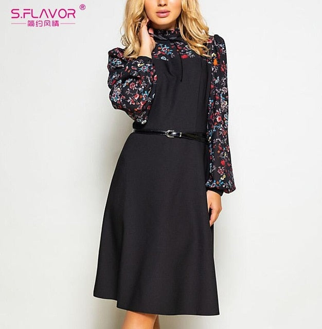 Women Autumn Fashion Dress