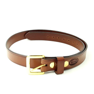 "1 1/2"" Wide Heavy Duty Bridle Leather Belt"