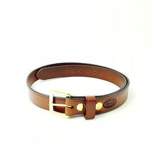 "1 1/4"" Wide Bridle Leather Belt"