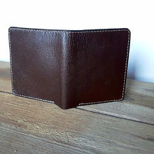 Bi-Fold Cash and Credit Card Wallet - Kangaroo Leather