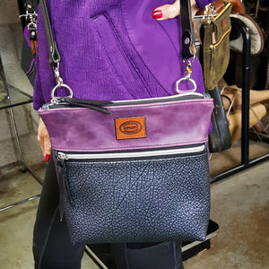 Concord Grape and Durochrome Cross Body